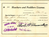 Peddlers License from Allentown
